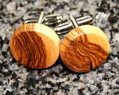 jewelri wooden, cuff link, cuffs, wood jewelri, olives, wood cufflink, oliv wood, thing