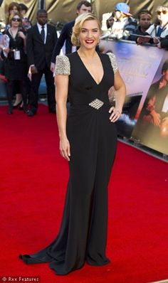 Always stunning. Kate Winslet at the Titanic 3D premiere in London