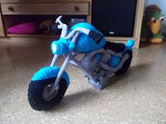 Amigurumi bike