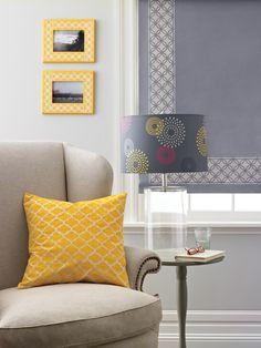 A stencil can add an artistic touch to home décor.