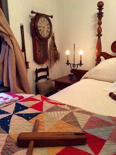Antique pinwheel quilt colonial