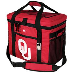New for 2013! Igloo 45 Can Ultra Collegiate Cooler - University of Oklahoma