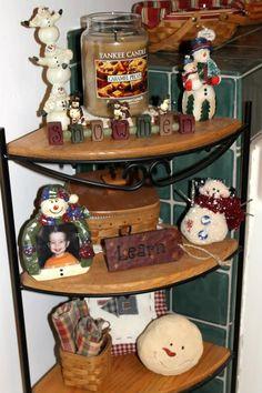 Christmas decorating with Longaberger