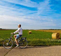 Take a bike ride in the beautiful region of Burgenland, Austria  #austria #burgenland #biketrip #sport #landscape #nature #visitaustria