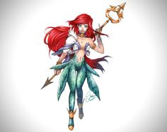 Ariel Mermaid Medieval