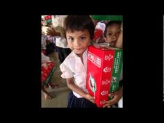 Operation Christmas Child delivery in Cambodia