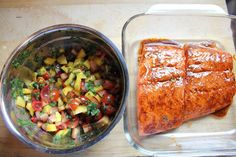 chili salmon & tropical samon....and tons of other great recipes!
