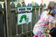 The Very Hungry Caterpillar Birthday Party Game