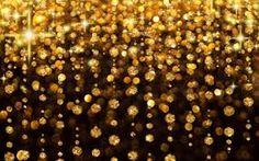 Gold Black Sparkle