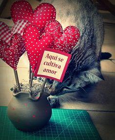 vaso com corações