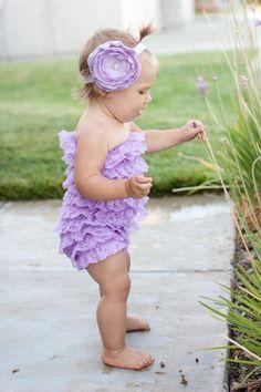 purple petti romper!