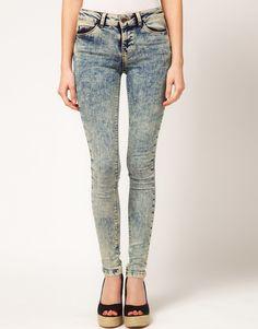 ASOS - Blue Acid Wash Ultra Skinny Jean 11