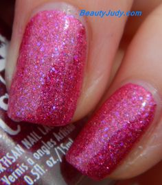 Girly Bits What Happens in Vegas...Ends Up On Instagram Cosmoprof exclusive nail polish summer 2014 swatches and review on BeautyJudy