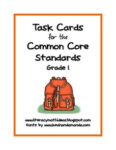 math, task cards, classroom, idea, common core standards