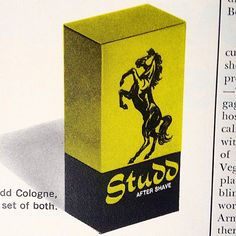 Studd. Vintage design.