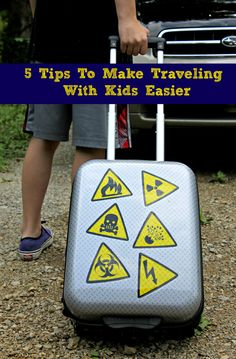 Tips for Traveling With Kids & Giveaway!