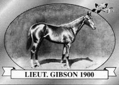 Lieutenant Gibson   Winner of the 26th Kentucky Derby   1900   Jockey: J. Boland   7-Horse Field   $4,850 Prize