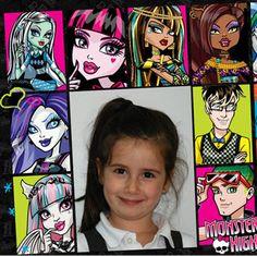 Marcos para fotos Monster High totalmente gratuitos.