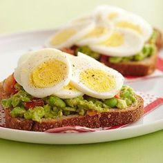 Open-Face Egg Sandwiches