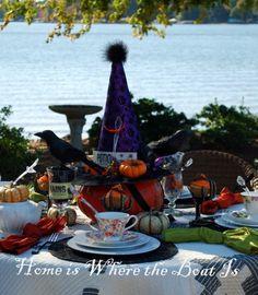 Great Halloween Table