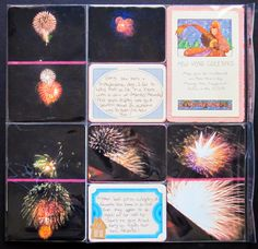 My Scrapbook Evolution: Project Life: Fireworks