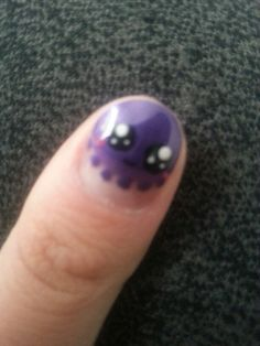 cute octopus nail art
