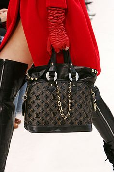 Louis Vuitton - love the red.