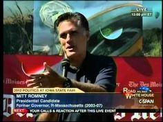 Mitt Romney- Corporations Are People!