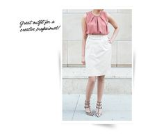Professionelle: What We Wear: Balenciaga Top + Bottega Skirt
