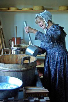 Amish. Sturbridge Village, Massachusetts, USA