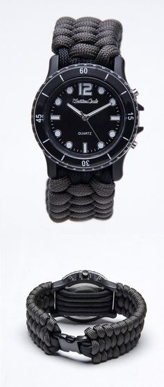 Paracord Survival Rope Watch