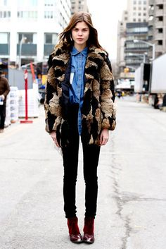 Street Style Pictures | Fashion Week Fall 2013 | New York