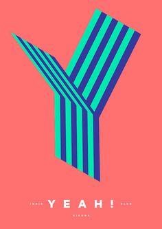 YEAH! Indie Club season poster by Quim Marin
