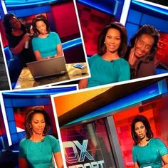 """Thanks Cassandra for all the 2013 looks for Fox Report Weekend! https://www.facebook.com/cassandra.parks.71?fref=ts Sharing your montage from tonight's final Saturday broadcast of the year!:"