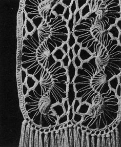 Vintage Hairpin Lace Crochet Pattern by Nostalgia Rules, via Flickr