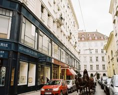 The beautiful streets of #Vienna.