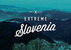 Extreme Slovenia Brand ID by Supafrank , via Behance