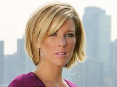 15 Great Short Blonde Haircuts-This awesome bob cut is defined by those lovely strands of medium-thick blonde hair which are quite lovely and charming to behold. Likewise, to increase the volume and texture of the hair, layers are added to it further enhancing the appeal of this hairstyle. Moreover, the side-parted bangs add glamour and style to this amazing bob cut Short Hair, Laura Wright, Shorter Hair, Shorts Hair, New Haircuts, Bobs Cut, Hair Style, General Hospitals, New Hairstyles