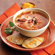 Gametime Mexican Chicken Soup from Land O'Lakes