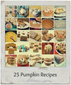29 Pumpkin Recipes for the Fall