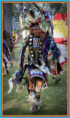 Proud Native American Dancer by christopher.binning