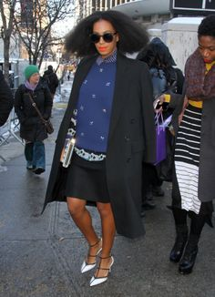 Solange At The Noon By Noor Spring 2014 Fashion Show