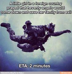 ETA 2 minutes! ~~ MilitaryAvenue.com