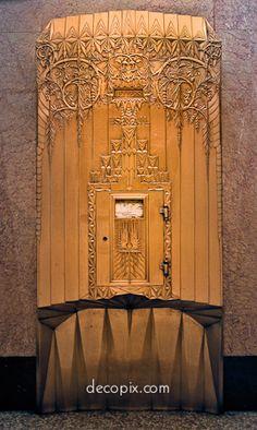 Mailbox, New Jersey Bell Telephone Bldg., Newark, New Jersey