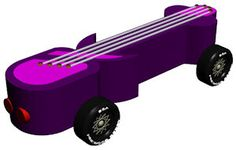 Powder Puff Pinewood Derby car ideas - and rules