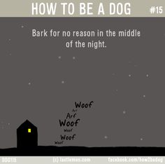 How To Be A Dog | La