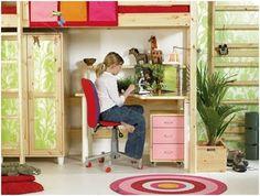 cuarto de niñas compacto