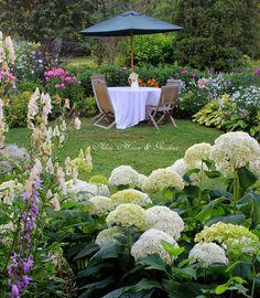 Aiken House & Gardens ~ August Garden