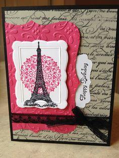 Artistic Etchings, En Francais, Top Note die, Designer Frames folder - Catherine Loves Stamps
