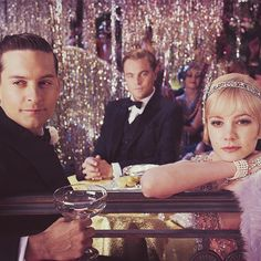 Great Gatsby :) plus 3 amazing actors!
